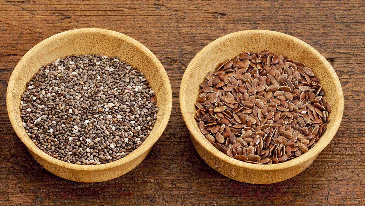 Que choisir  - graines de chia ou graines de lin ?