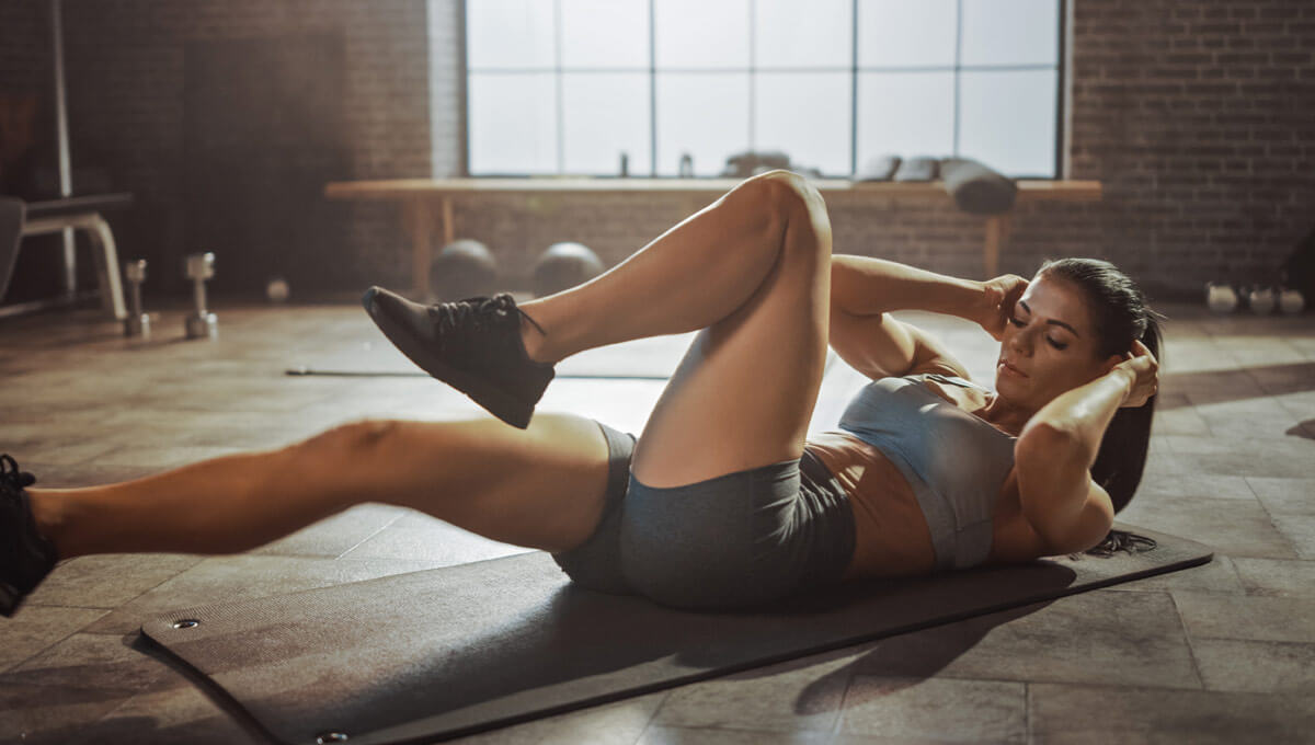 ABS training  for women