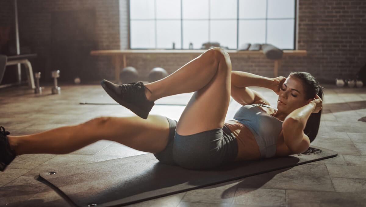 Entrenamiento de ABS  para mujeres