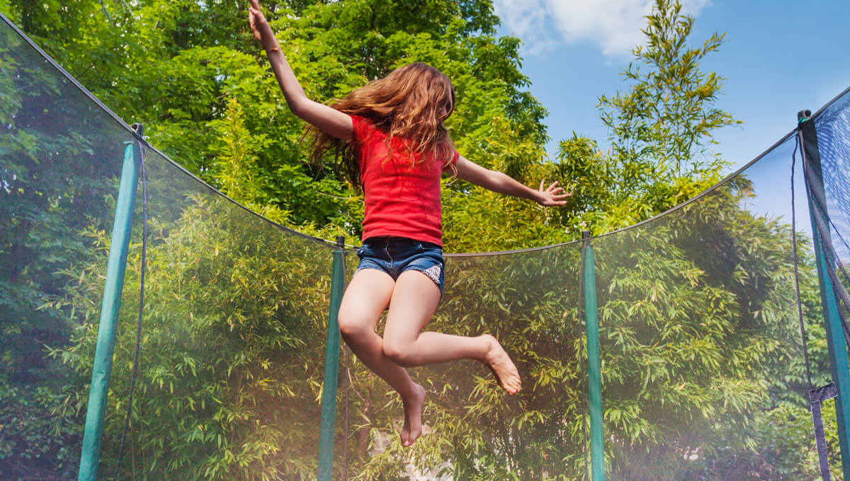Is trampoline jumping healthy  and safe?