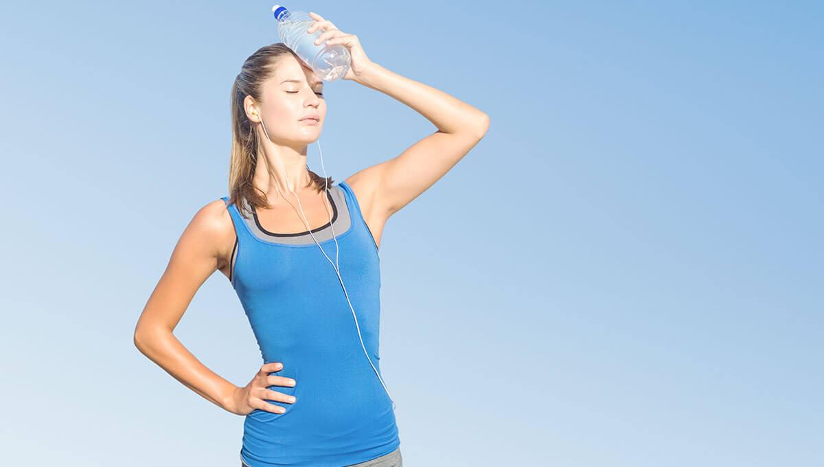 Est-il prudent de s'entraîner  en plein air sous la chaleur ?