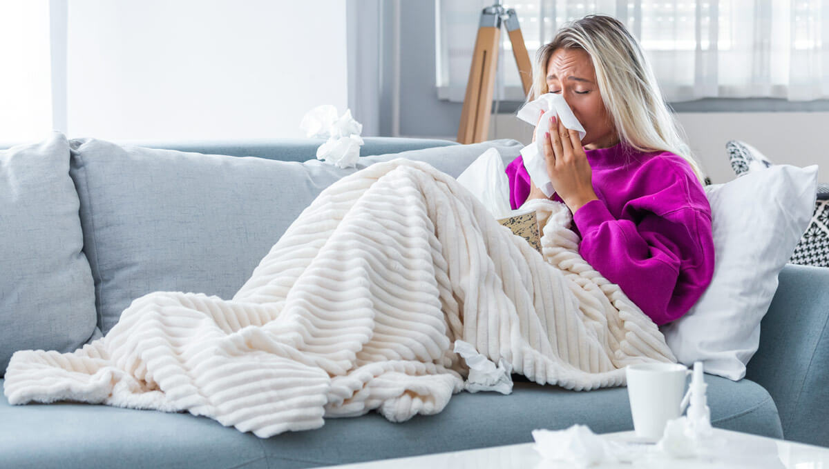 Why does the common cold  strike more often in winter?