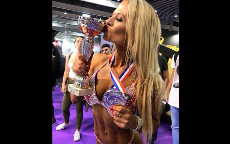 Katarzyna Dziurska won second place