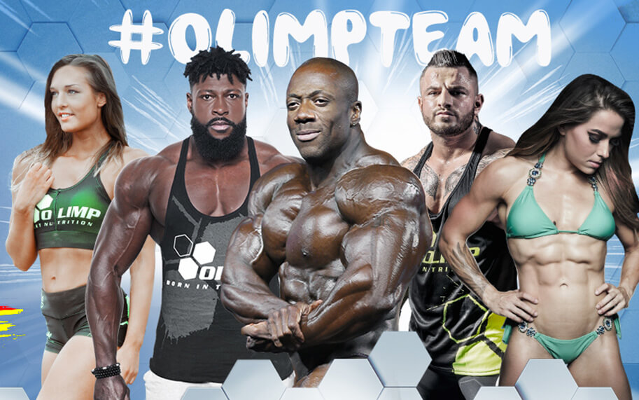 Come and visit Olimp Sport Nutrition Stand