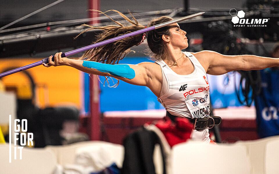 Maria Andrejczyk  dołącza do Olimp Team!