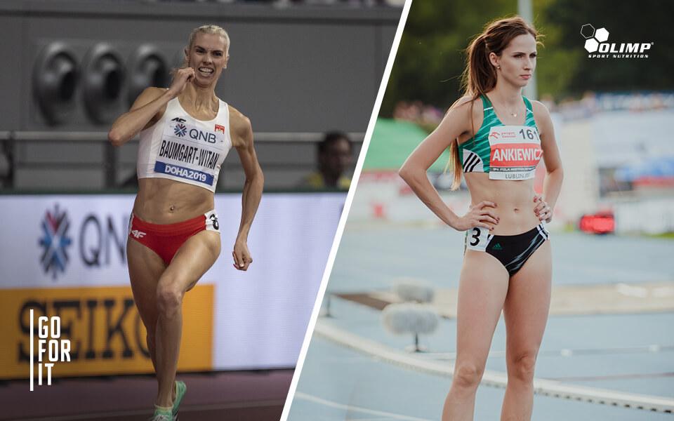 Iga Baumgart-Witan i Emilia Ankiewicz  w szeregach zespołu Olimp Team!