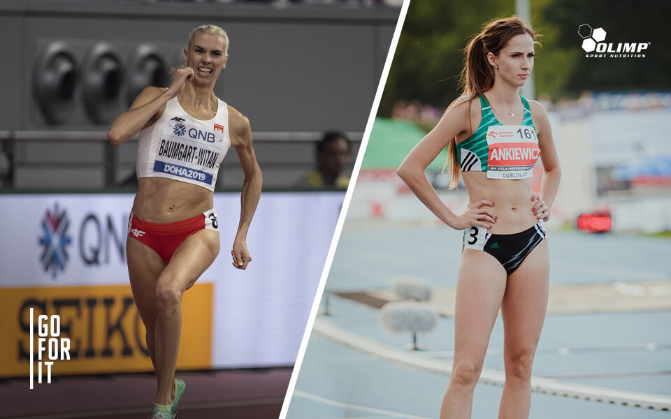 Iga Baumgart-Witan and Emilia Ankiewicz  join the Olimp Team!