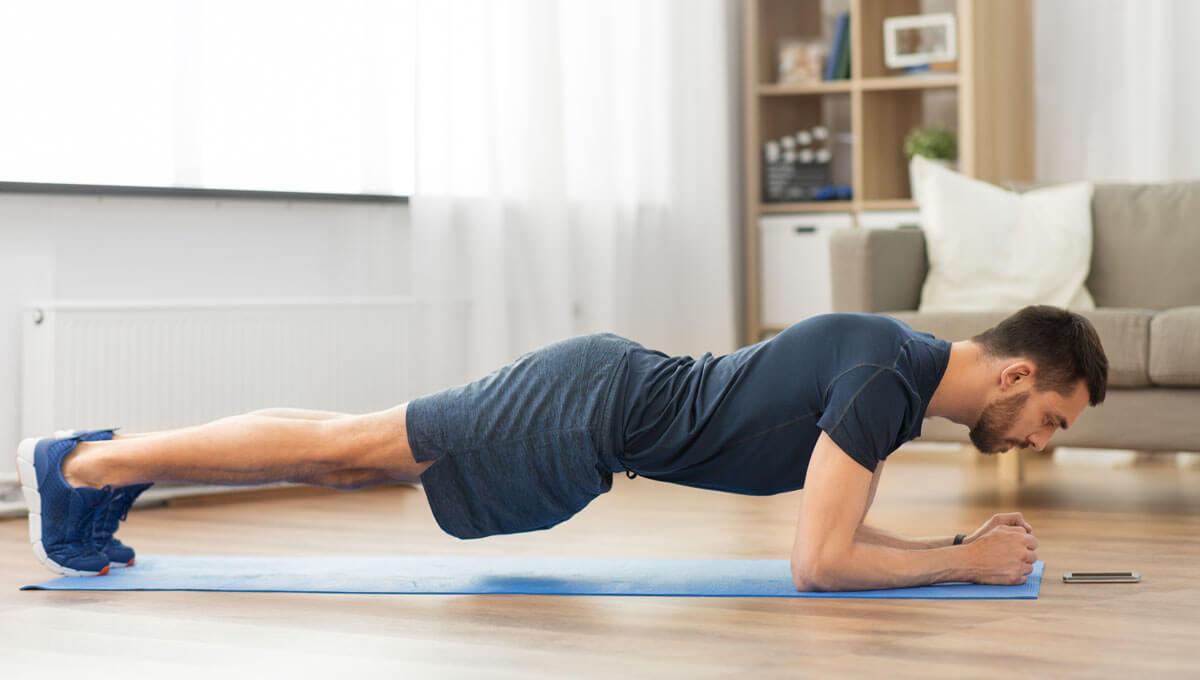 Wie trainiert man die Rückenmuskulatur  zu Hause?