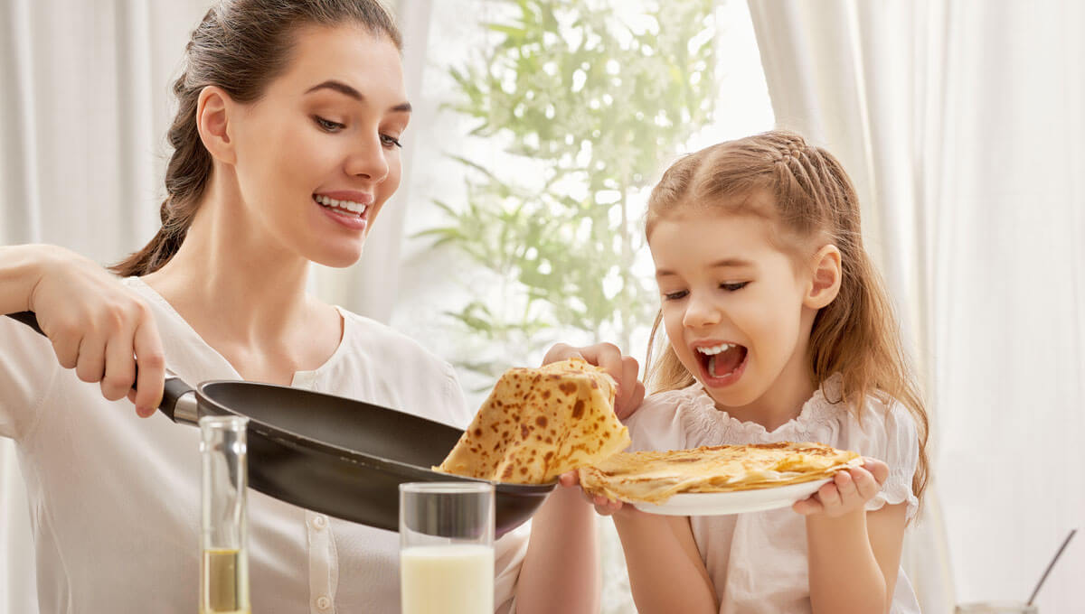 How to teach your child  about healthy eating?