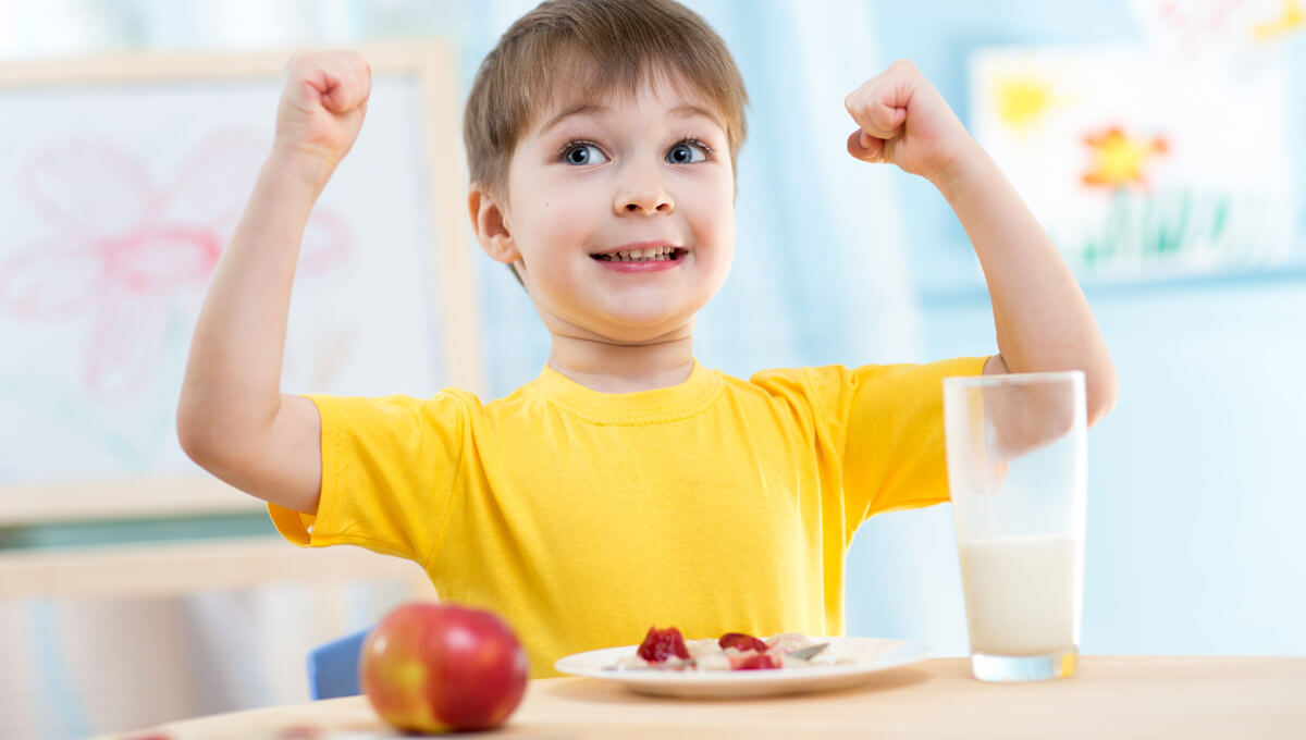 How to improve immunity  in children?