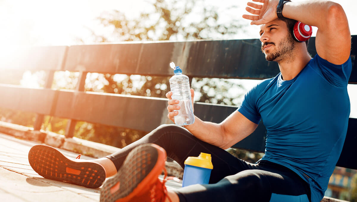 How to properly recover  after training?