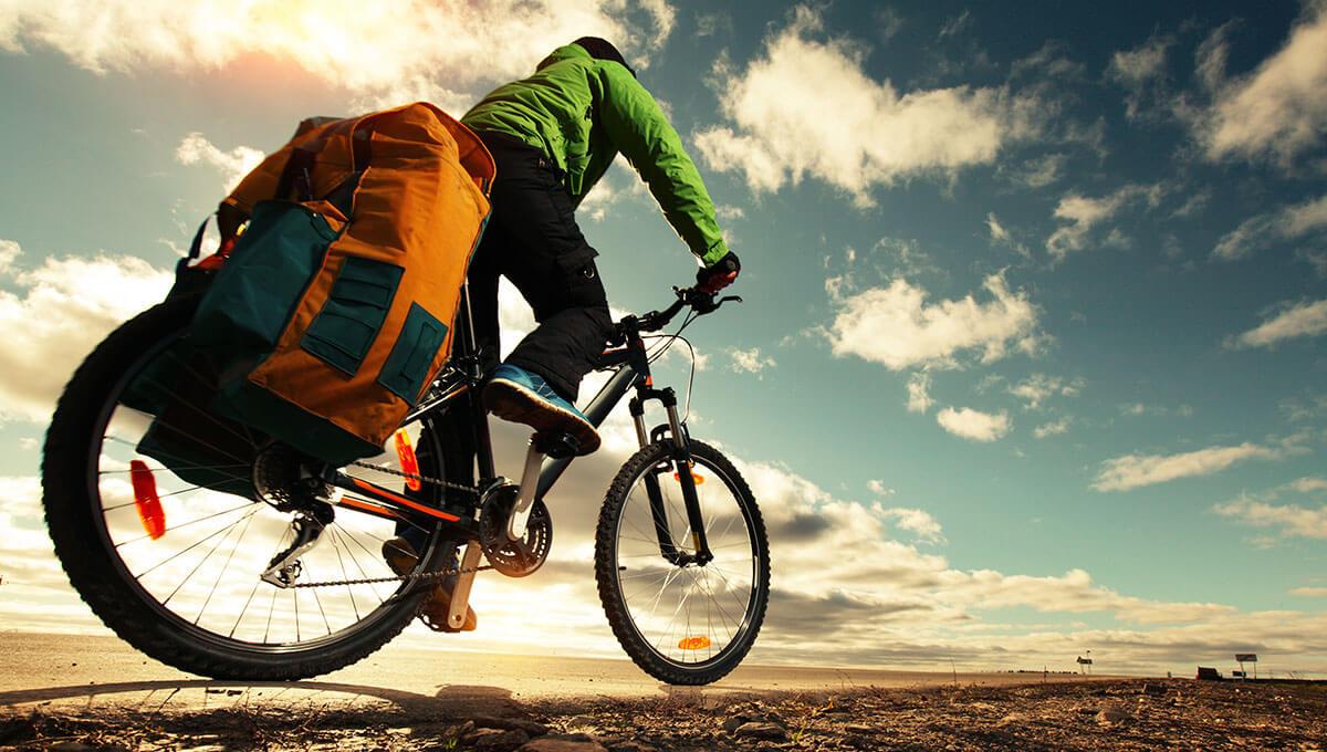 Wie bereitet man sich  auf eine Fahrradtour vor?