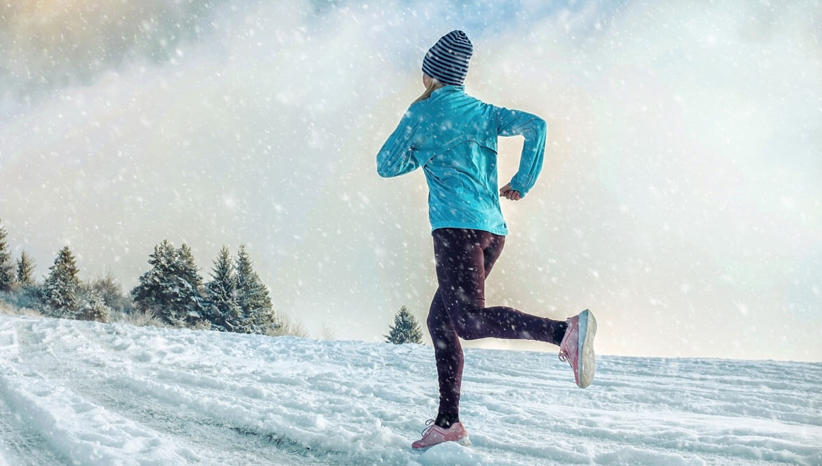 How to design a running training plan  in the winter?