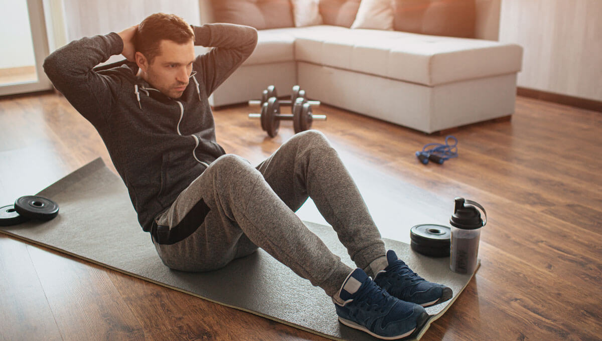 The most common mistakes  made when training at home