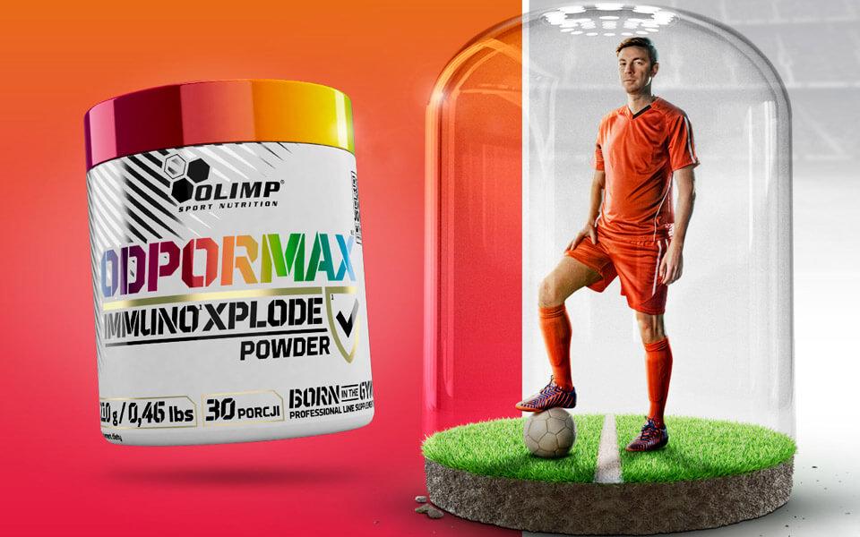 Odpormax Immuno Xplode  - echte Hilfe für Deine Abwehrkräfte!