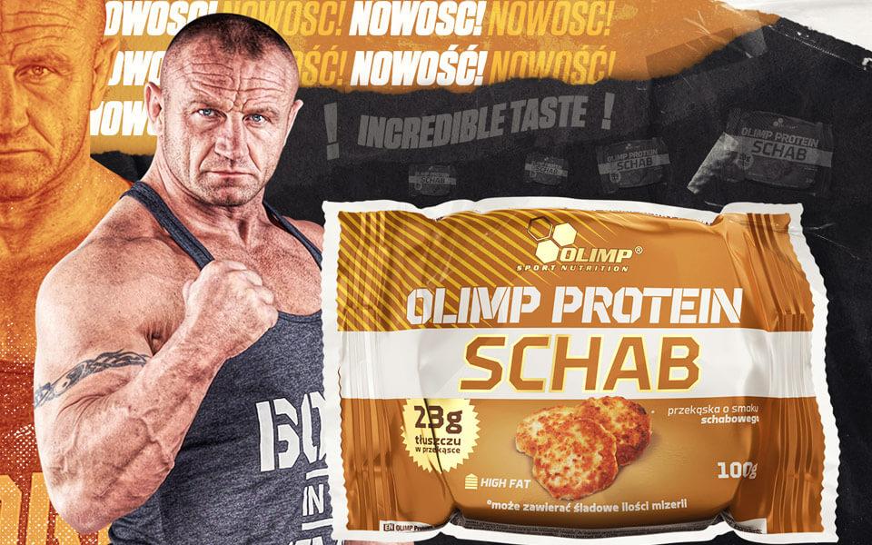 Nowy smak proteinowej przekąski  – Olimp Protein Schab!