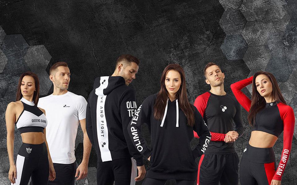 Nowa kolekcja ubrań marki Olimp Sport Nutrition  już dostępna w sprzedaży!