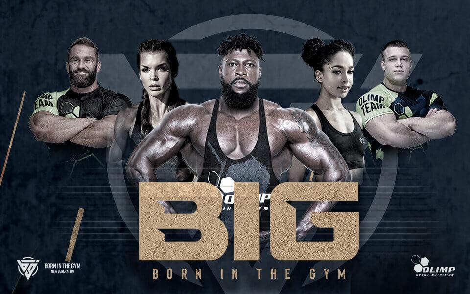 La campagne BIG BORN IN THE GYM  vient d'être lancée