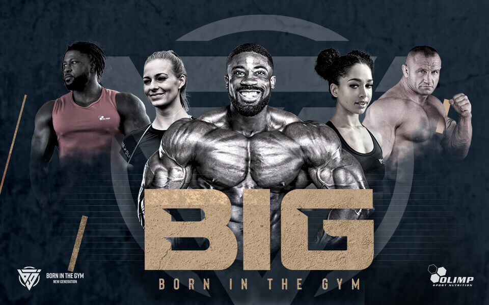 The BIG BORN IN THE GYM campaign is about to be launched
