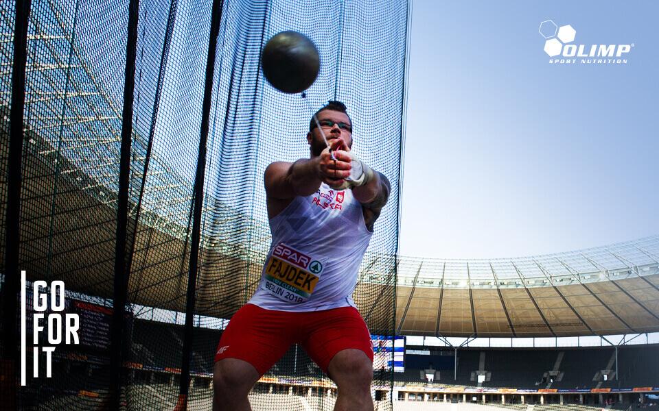 World Champion Paweł Fajdek  joins Olimp Team!