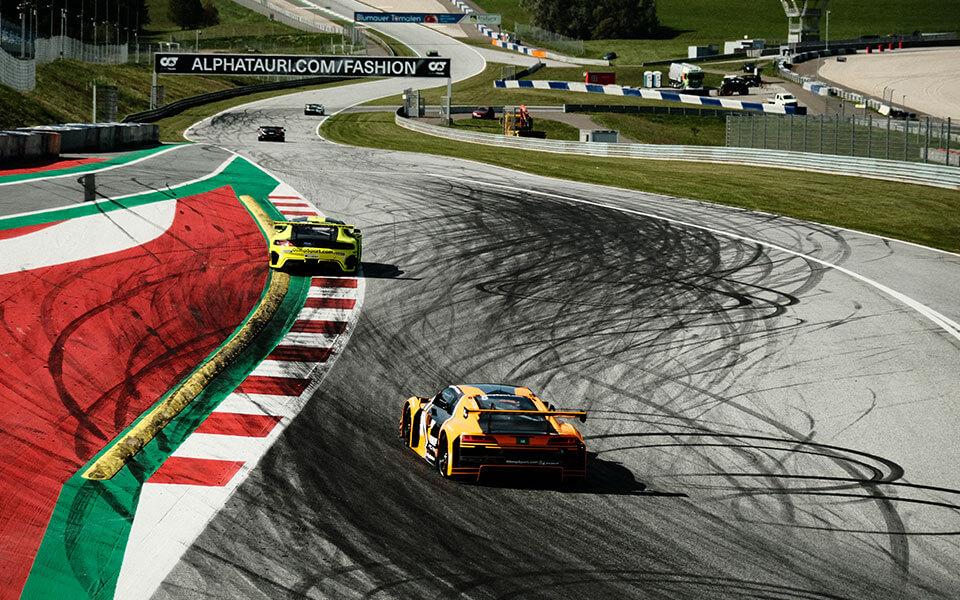 Podwójne podium Olimp Racing