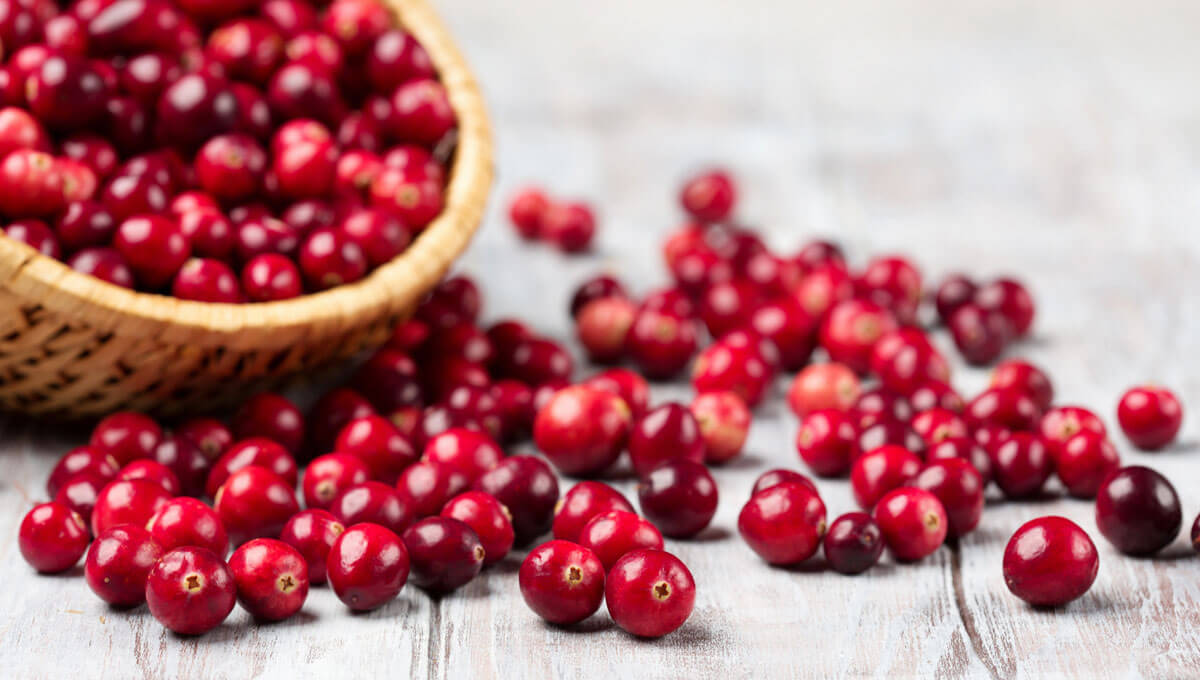 Discover the health benefits  of cranberries!