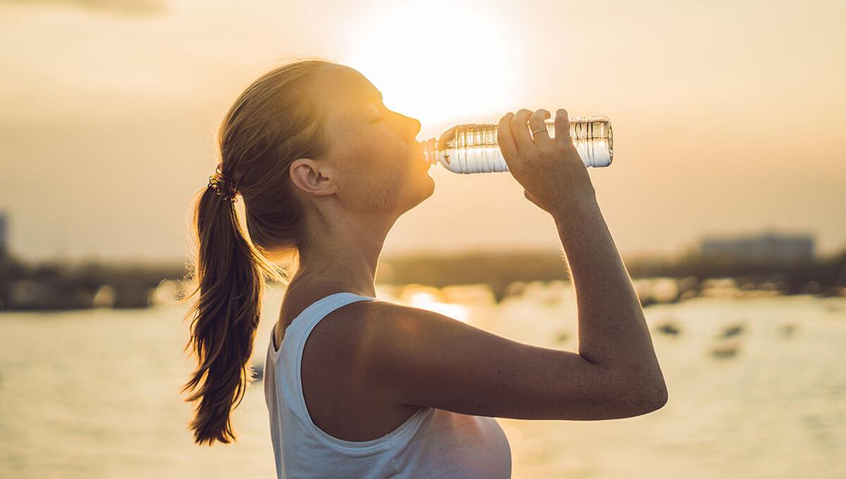 Une bonne hydratation en été