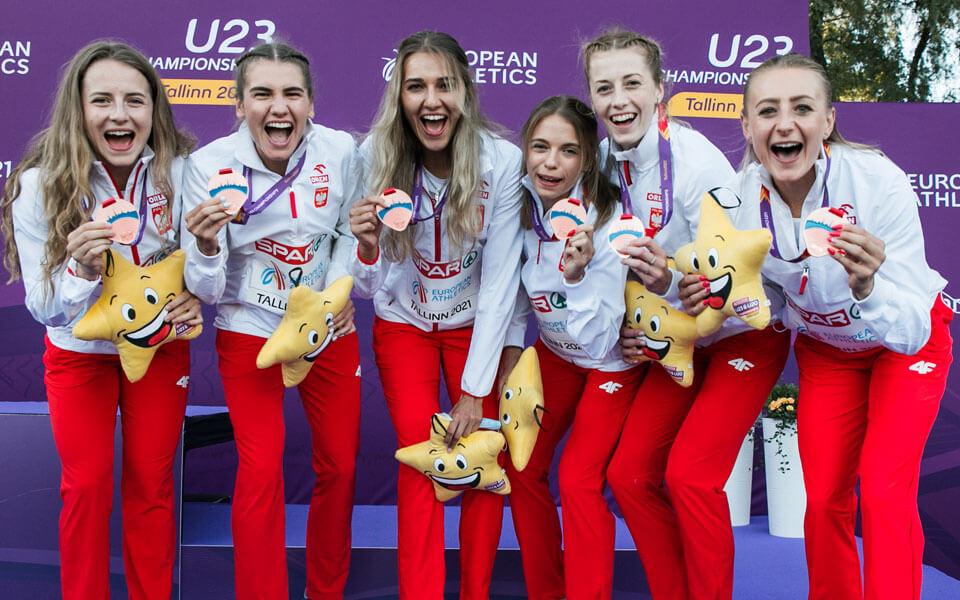 Udany występ lekkoatletów  na Mistrzostwach Europy U23 w Tallinnie