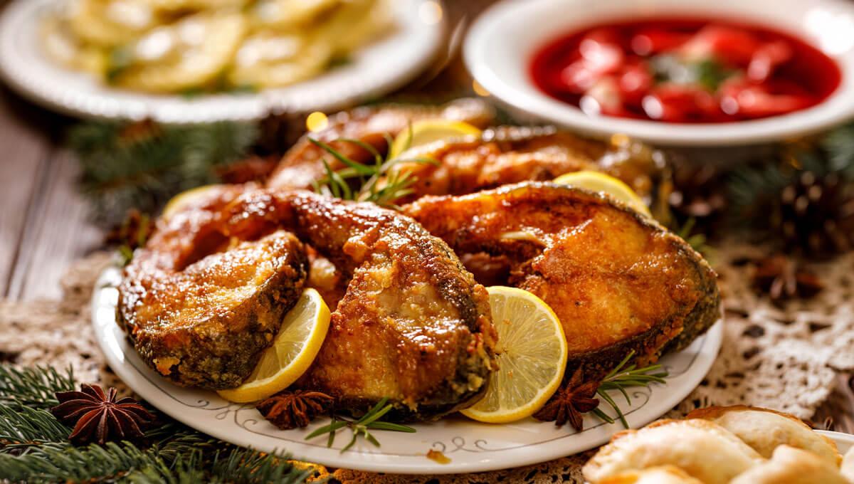 Régime de Noël  - repas facilement digestibles à la table de la veille de Noël