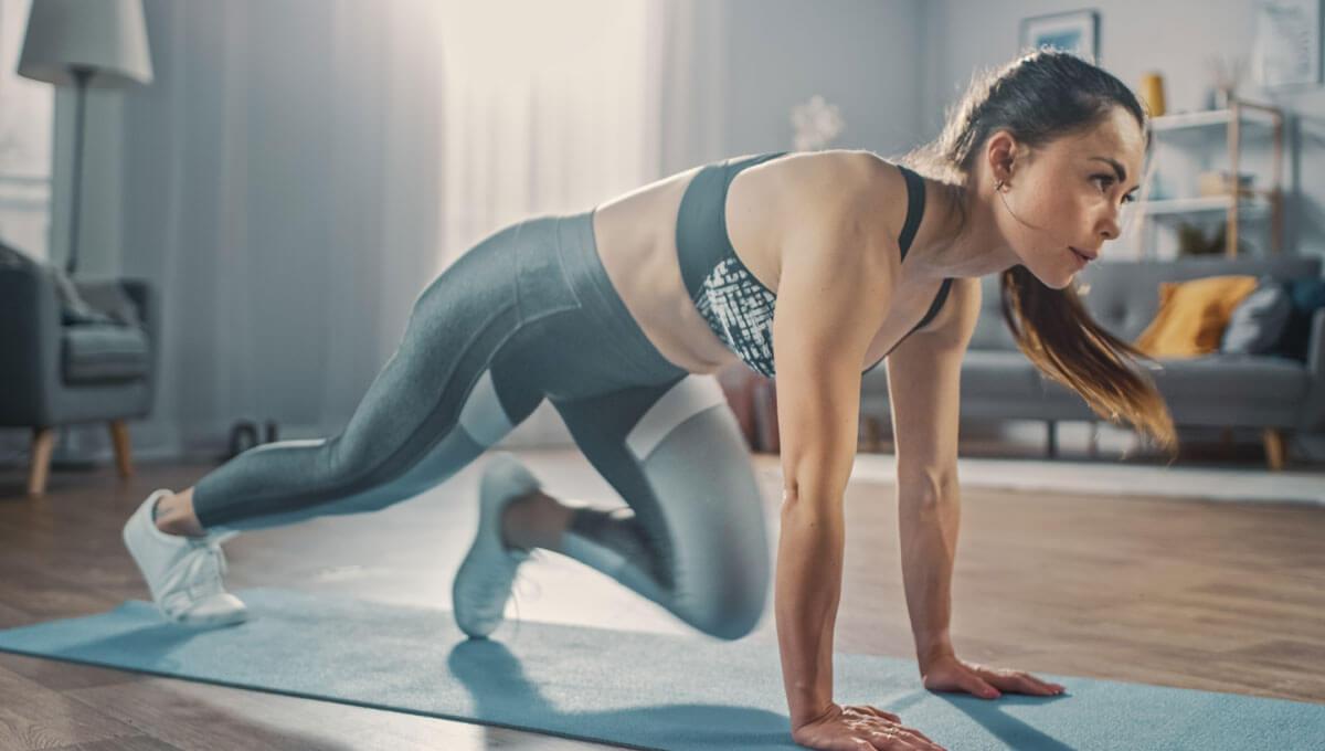 Entrenamiento cardiovascular en casa:  los ejercicios más eficaces