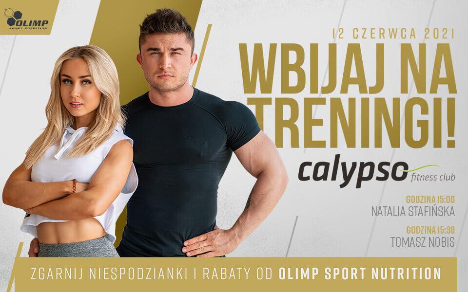 Przyjdź na trening  z Natalią Stafińską i Tomaszem Nobisem!