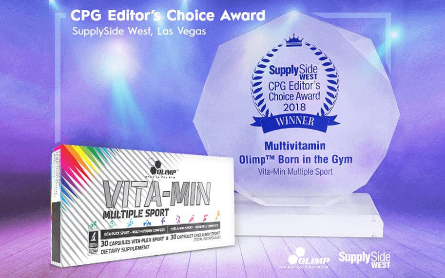 Vita-min Multiple Sport  porta a casa un prestigioso riconoscimento!