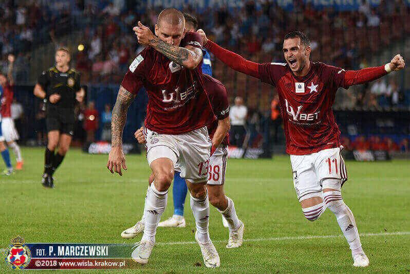 Pierwsze zwycięstwo Wisły Kraków