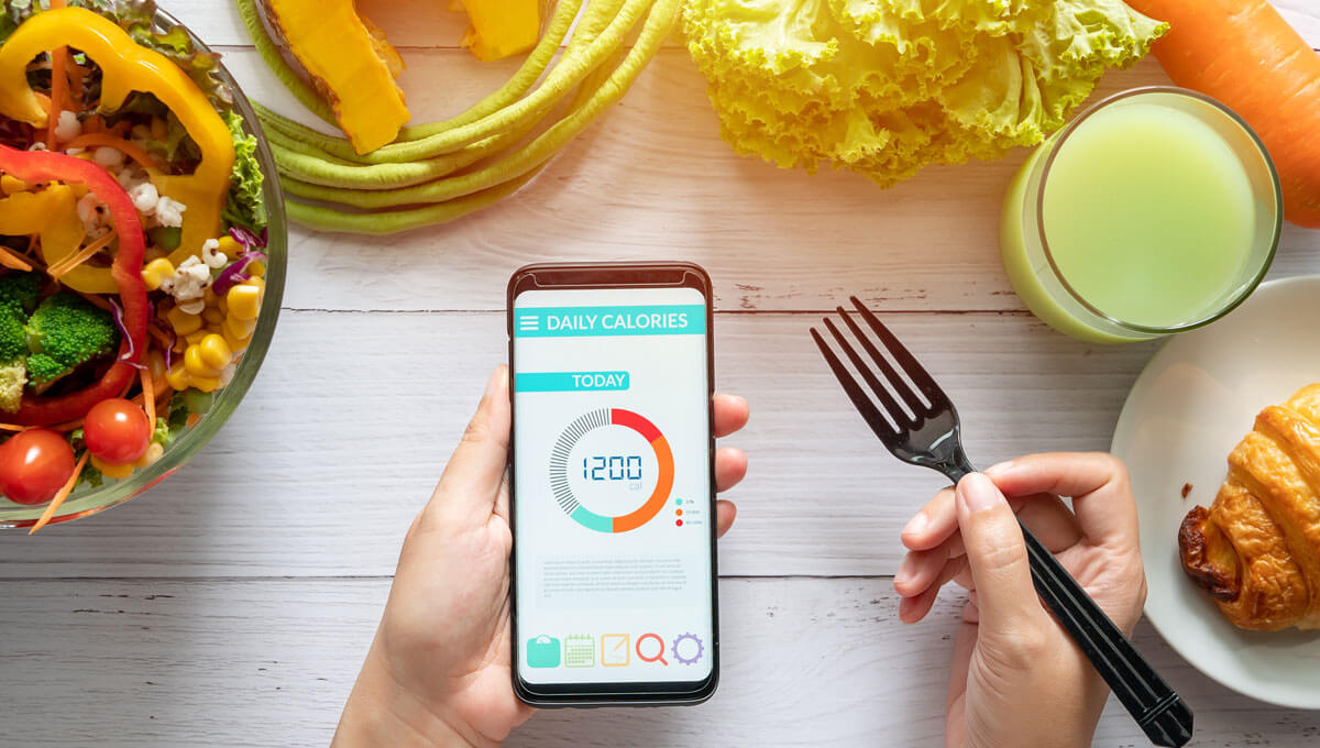 Try out  useful diet apps