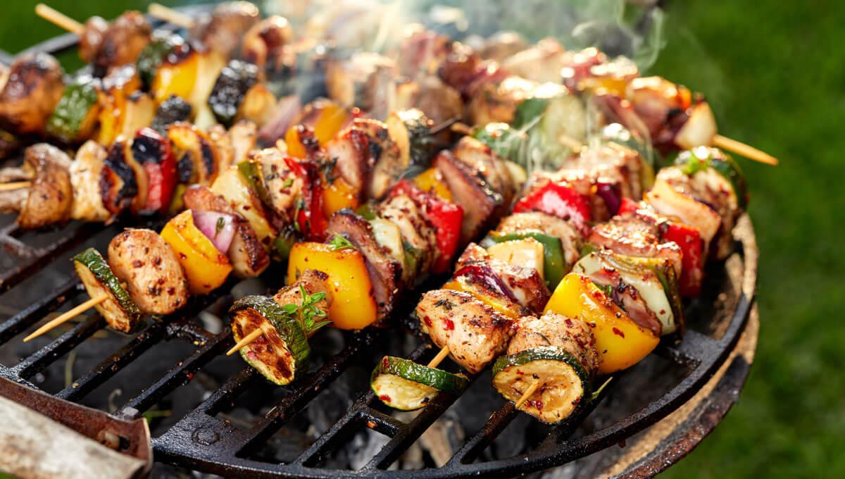A healthy barbecue