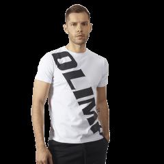 MĘSKA KOSZULKA OLIMP – MEN'S T-SHIRT SASH WHITE - Olimp Laboratories