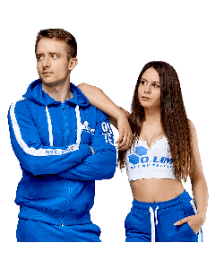 UNISEX HOODIE OLIMP TEAM BLUE - Olimp Laboratories