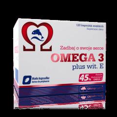 Omega 3 plus wit. E - 120 kapsułek - Olimp Laboratories