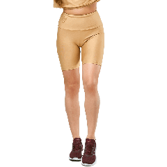 WOMEN`S SHORT LEGGINGS HIGH WAIST WARM SAND