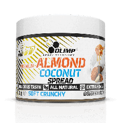 Almond Coconut Spread soft crunchy - Olimp Laboratories