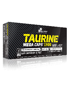 TAURINE MEGA CAPS - 120 caps - Olimp Laboratories