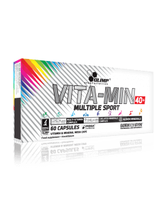 VITA-MIN MULTIPLE SPORT 40+ - 60 gélules - Olimp Laboratories