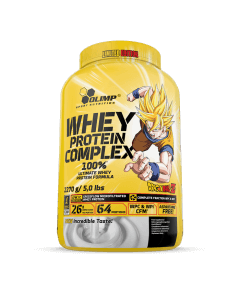 WHEY PROTEIN COMPLEX 100% 2270g DRAGON BALL Z Vanilla Ice Cream - Olimp Laboratories