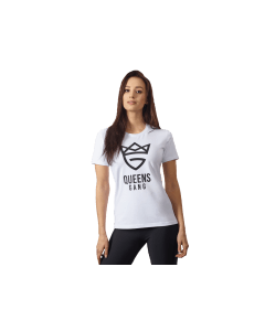DAMSKA KOSZULKA OLIMP – WOMEN'S T-SHIRT PURE WHITE - Olimp Laboratories