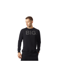 BLUZA MĘSKA BORN IN THE GYM – MEN'S PULLOVER BLACK SERIES - Olimp Laboratories