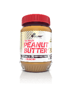PEANUT BUTTER CRUNCHY 350 g - Olimp Laboratories