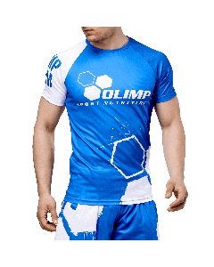 MĘSKA KOSZULKA SPORTOWA - MEN'S T-SHIRT ACTIVE OLIMP CREW BLUE SERIES - Olimp Laboratories