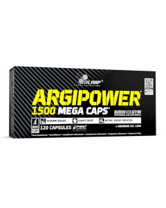 ARGI POWER 1500 Mega Caps - 120 kapsułek - Olimp Laboratories