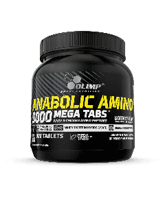 Anabolic Amino 9000 Mega Tabs - 300 Tablets - Olimp Laboratories