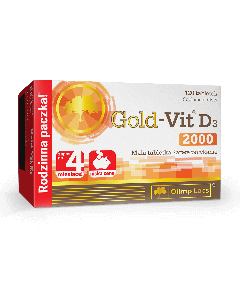 Gold Vit D3 2000 - 120 tabletek - Olimp Laboratories